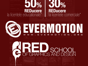 REDUCERI REDSchool & Evermotion
