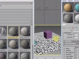 Crearea si organizarea librariilor de materiale in 3Ds Max